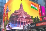 Why is a Giant Lord Ram Deity Appearing on Times Square and Why is it Controversial?