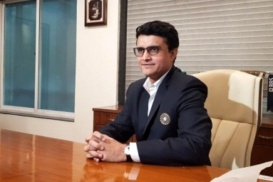 Sourav Ganguly Takes Over As BCCI President